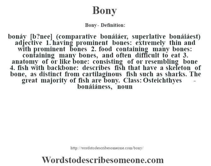 Boni Definition
